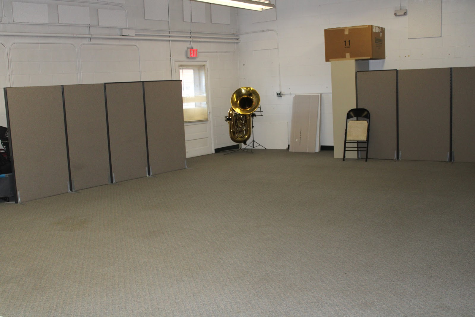 Incubator space large room