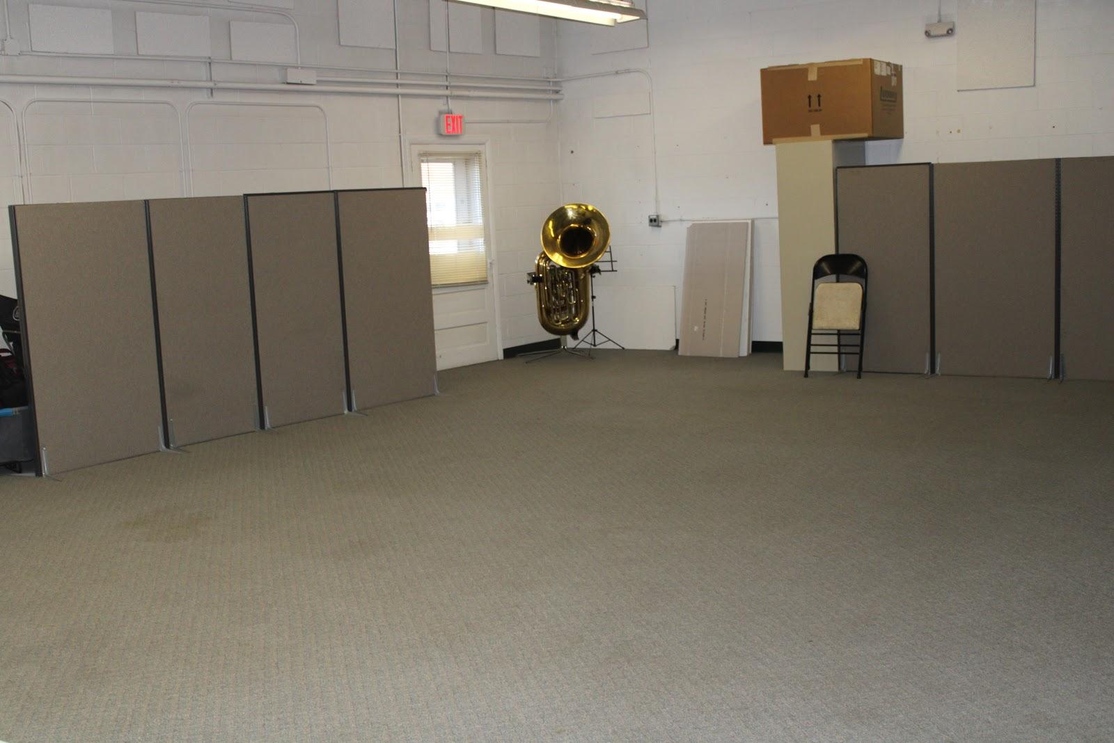 Incubator space large room